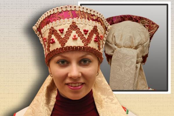 Русские народные головные уборы женские своими руками